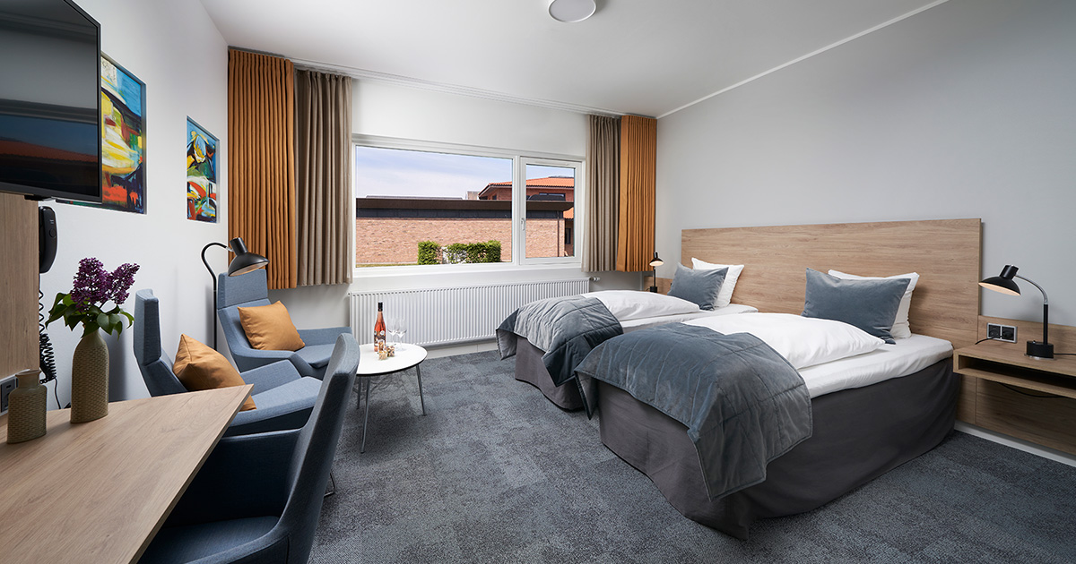 Superior Plus dobbeltværelse | Trinity Hotel & Konference Center