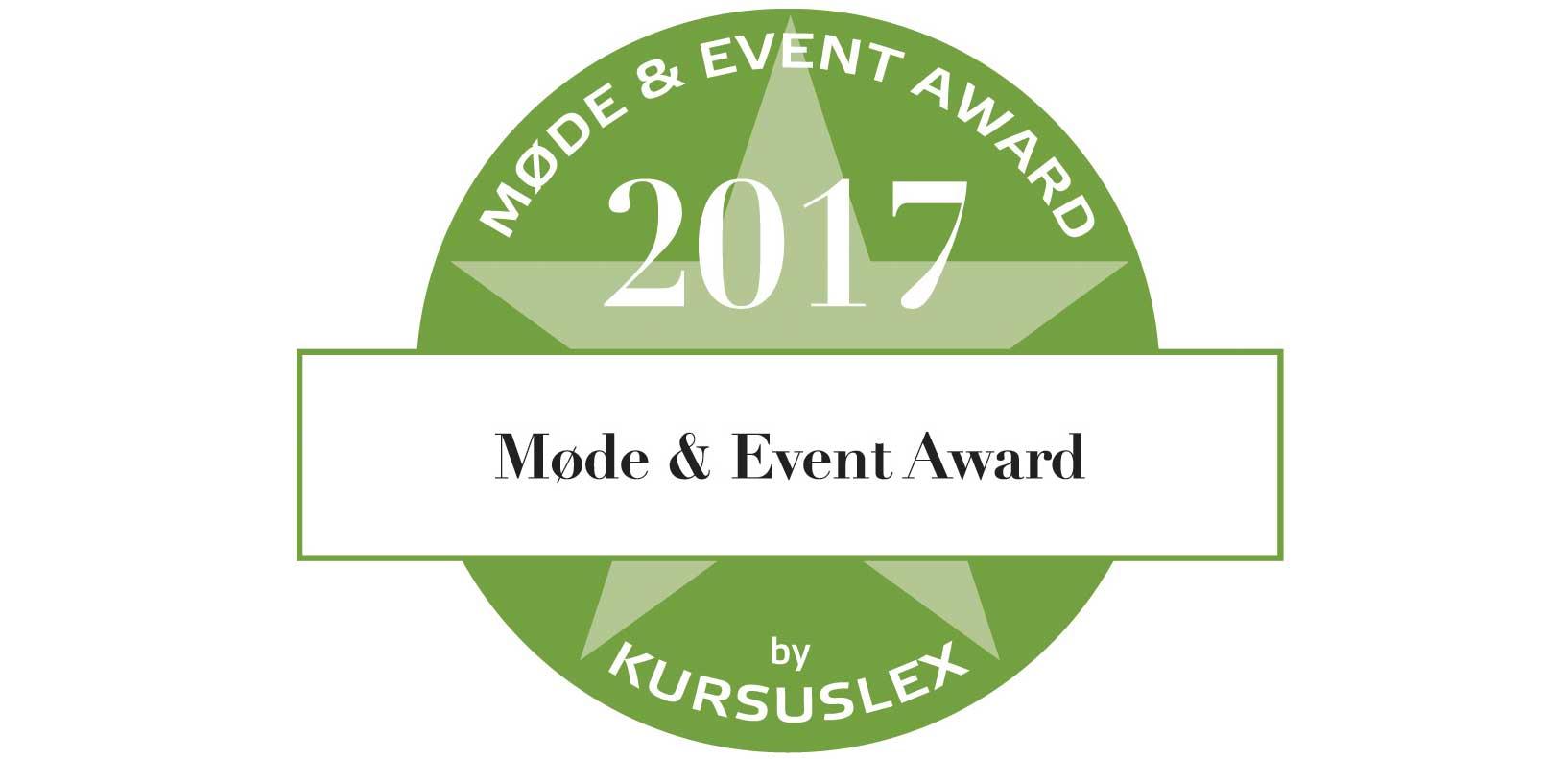 Møde & Event Award 2017
