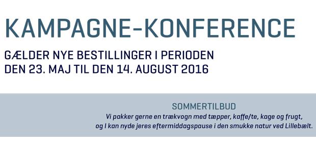 Konference tilbud sommer 2016