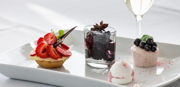 Lækker menu på Restaurant Lillebælt